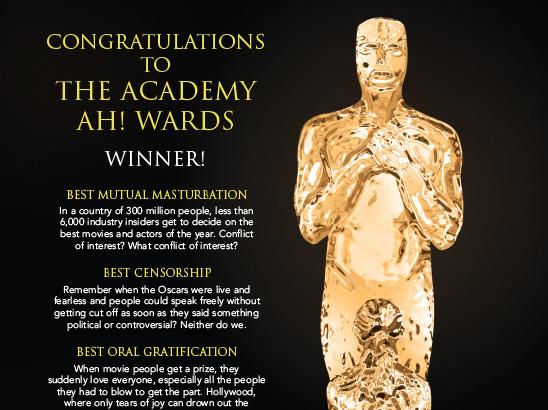Academy Ah! Wards Parody