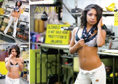 Ayumi Photoset & Layout