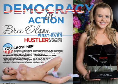Bree Olson Layout