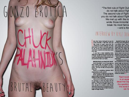 Chuck Palahniuk Layout