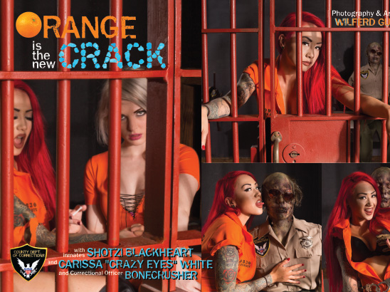 Orange Is The New Crack Photos & Layout