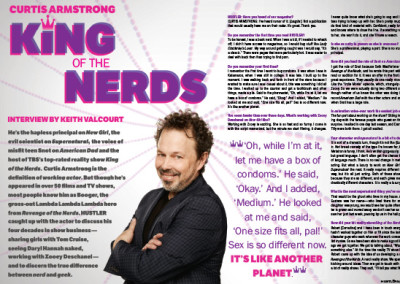 King of the Nerds Layout