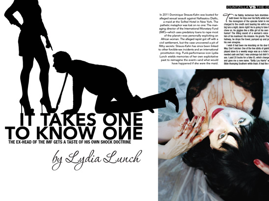 Lydia Lunch Layout
