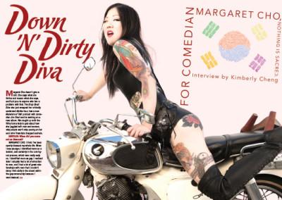 Margaret Cho Layout