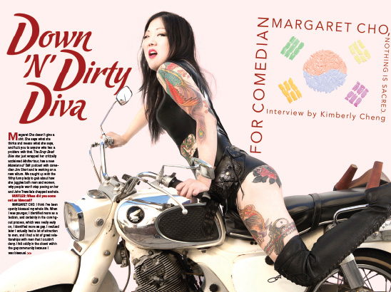 Margaret Cho Layout