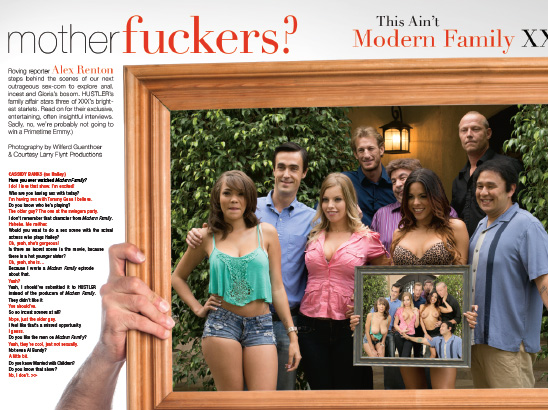 Modern Family XXX Photos & Layout