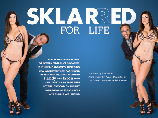 Sklar Brothers Photos & Layout