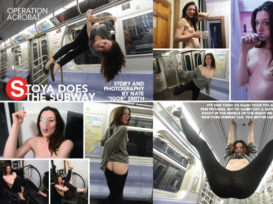 Subway Stoya Layout