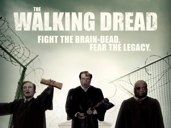 The Walking Dread Parody