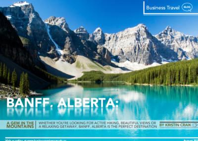 Banff Alberta Layout