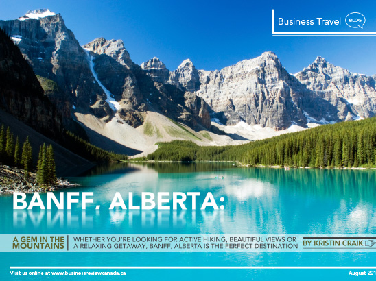 Banff Alberta Layout