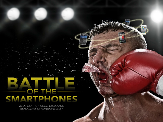 Battle of the Smartphones Layout