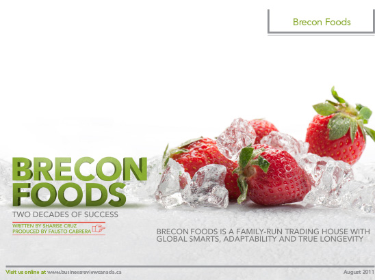 Brecon Foods Layout