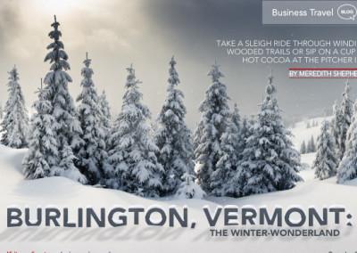 Burlington Vermont Layout
