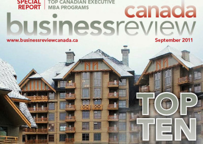 Business Review Canada Cover Layout