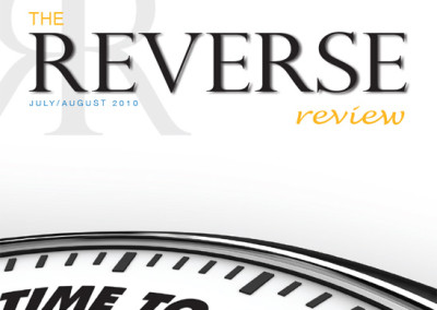 The Reverse Review Cover Layout
