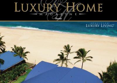 Luxury Home Magazine Layout