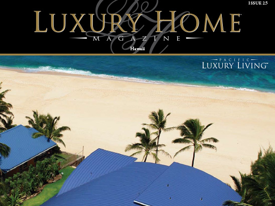 Luxury Home Magazine Layout