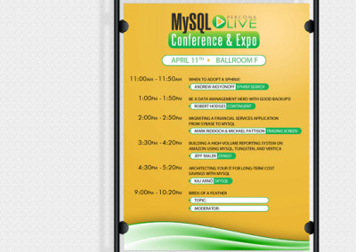 MySQL Conference & Expo Poster