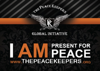 Peace Keepers Business Card