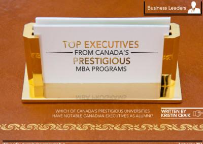 Top Executives Layout