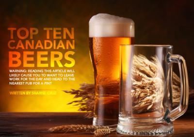 Top Ten Beers Layout