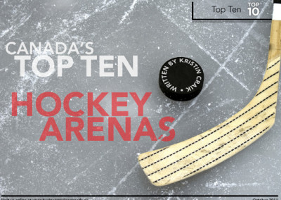 Top 10 Hockey Arenas Layout