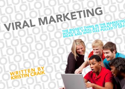 Viral Marketing Layout