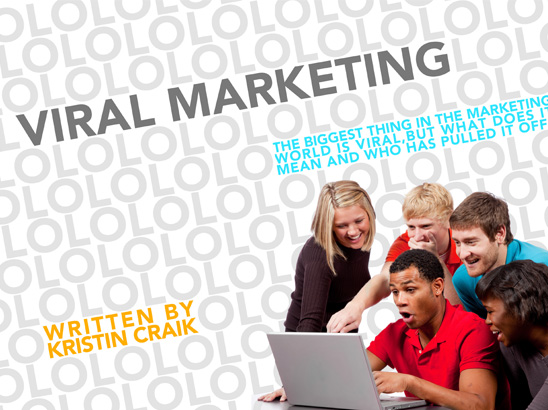 Viral Marketing Layout