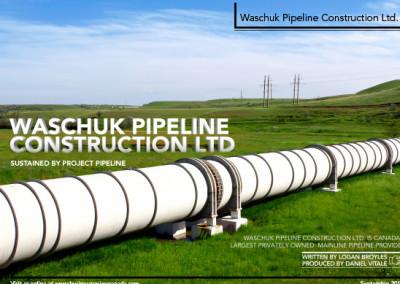 Waschuk Pipeline Layout