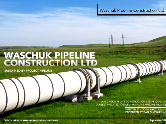 Waschuk Pipeline Layout