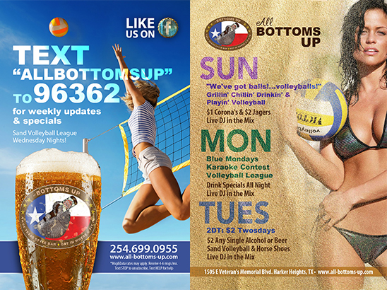 All Bottoms Up Campaign