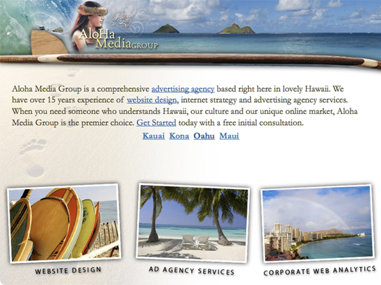 Aloha Media Group Webskins