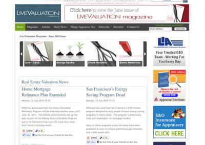 LiveValuation Magazine Webskins