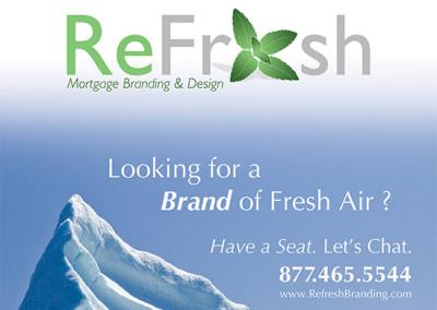 ReFresh Logo & AD