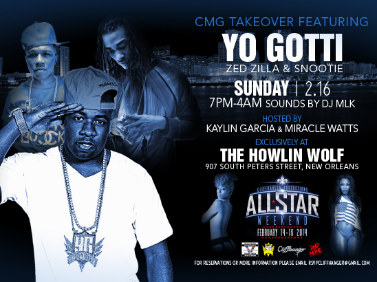 Yo Gotti All Star Weekend Postcard